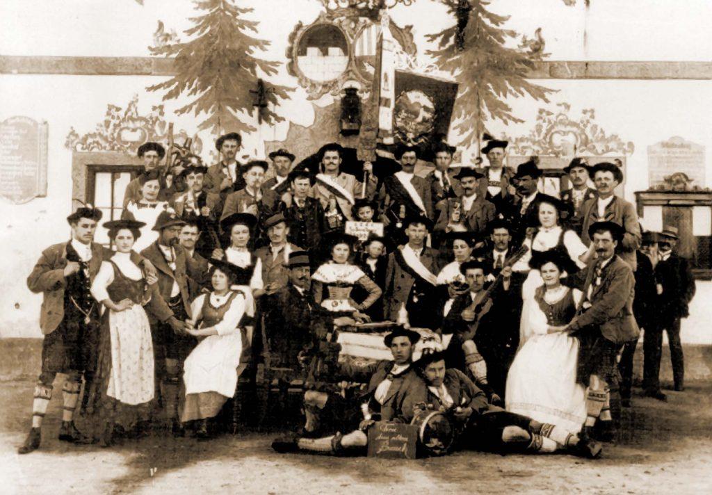 Vereinsfoto von 1912