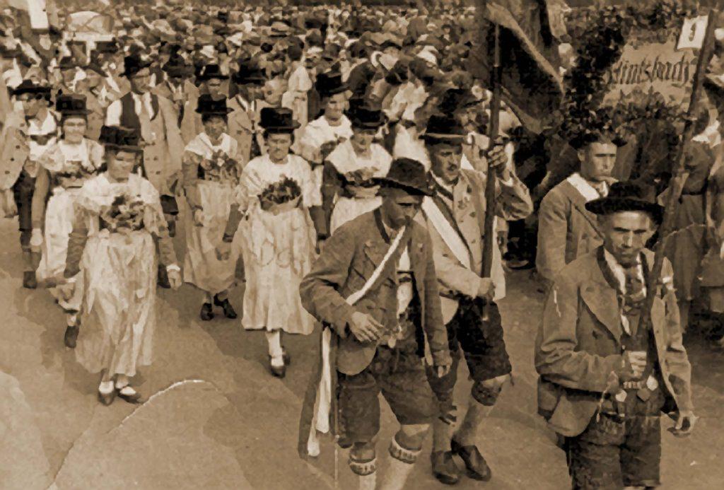 Volksfest Rosenheim 1925